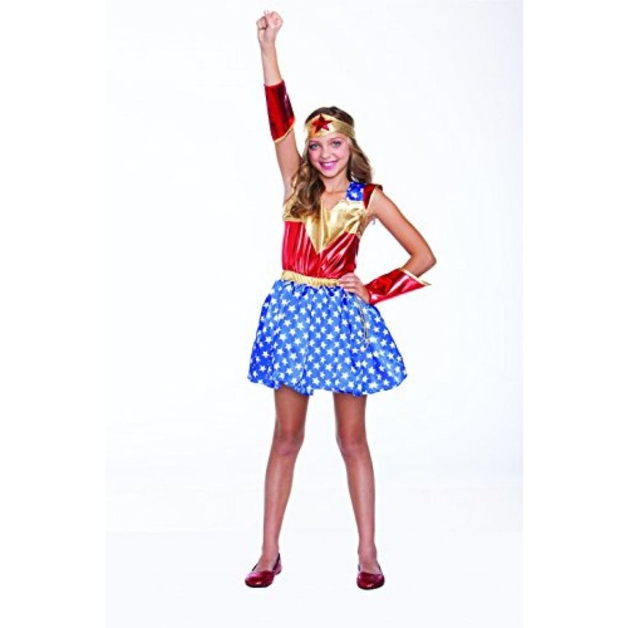 ハロウィン コスプレ 輸入品 Saum Accessories Inc. girls Child's Wonder Girl Costume