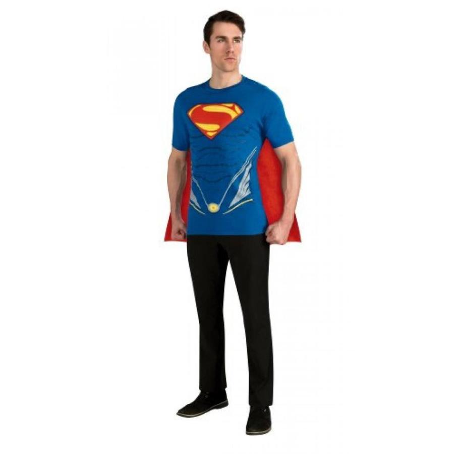 ハロウィン コスプレ 輸入品 Rubie's Costume Superman Man of Steel Costume T-Shirt Top