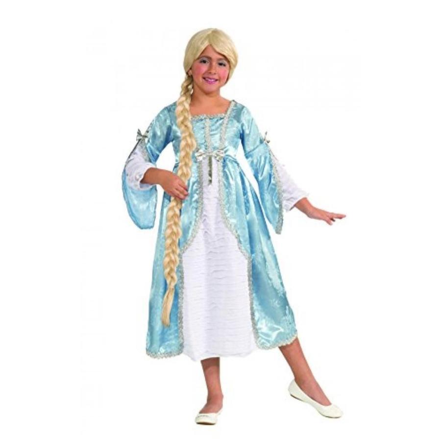 ハロウィン コスプレ 輸入品 Fairy Tale Favorites Princess of The Tower Costume Dress, Child Large