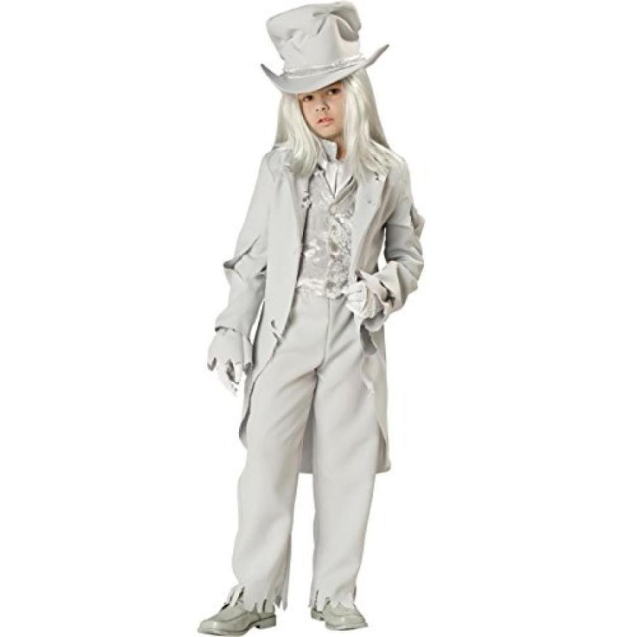 ハロウィン コスプレ 輸入品 InCharacter Costumes, LLC Big Boys' Ghostly Gent Tatte赤 Coat Set