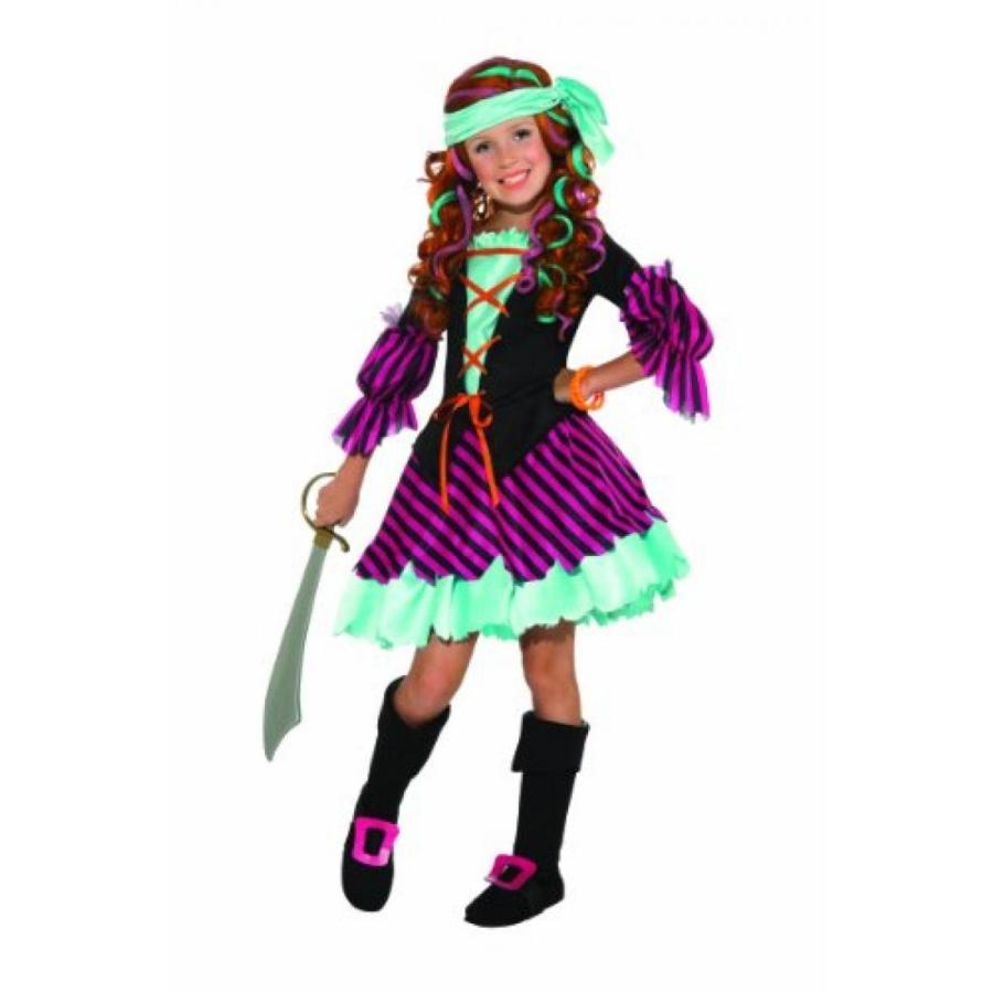 ハロウィン コスプレ 輸入品 Salty Taffy Girl's Pirate Costume