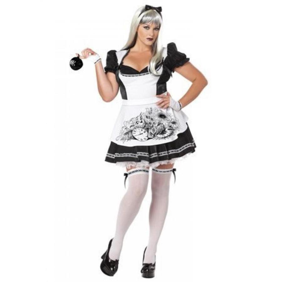 ハロウィン コスプレ 輸入品 California Costumes Plus-Size Dark Alice Dress Costume