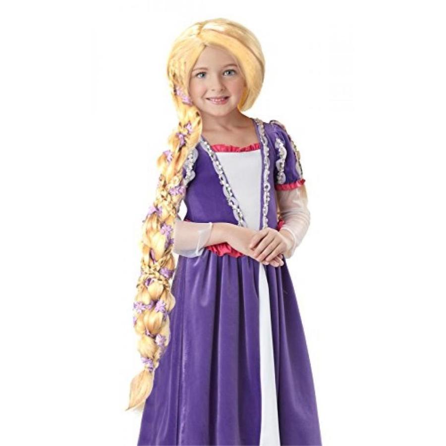 ハロウィン コスプレ 輸入品 California Costume Collection Child's Rapunzel Wig