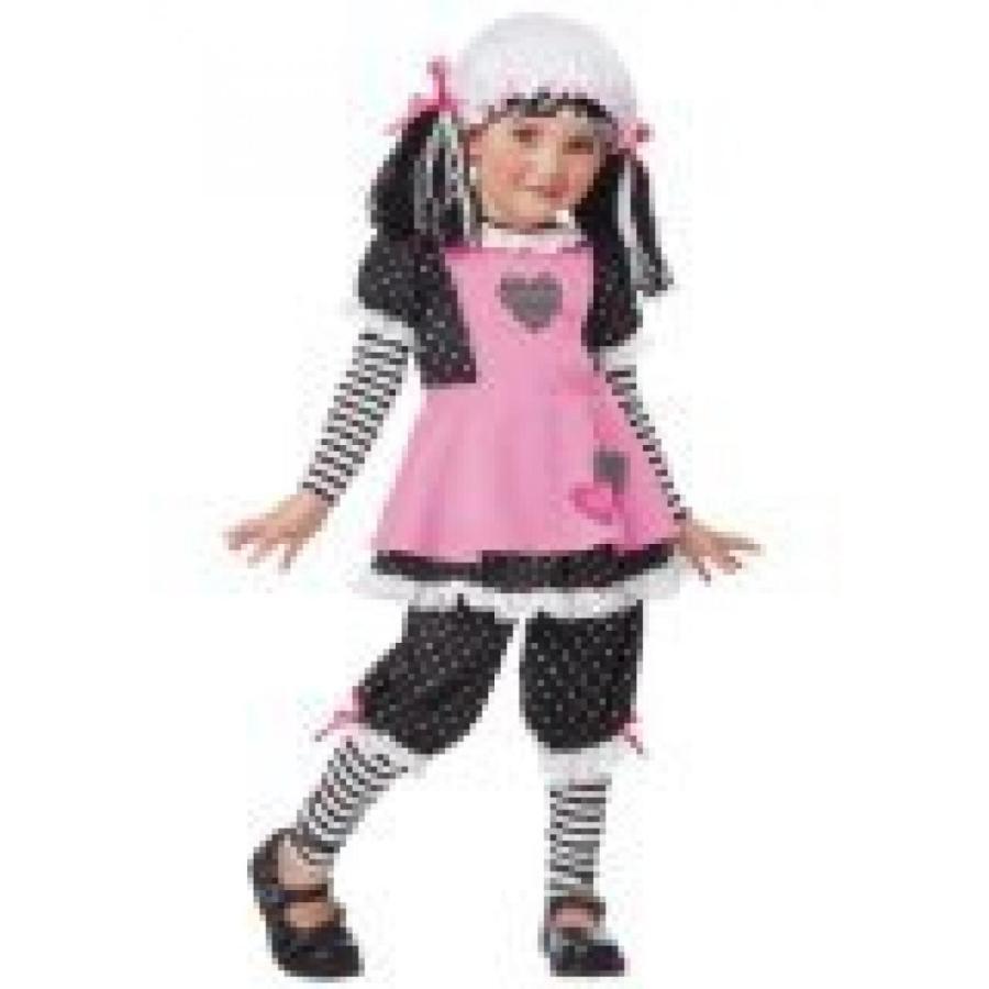 ハロウィン コスプレ 輸入品 California Costumes Rag Dolly Toddler Costume