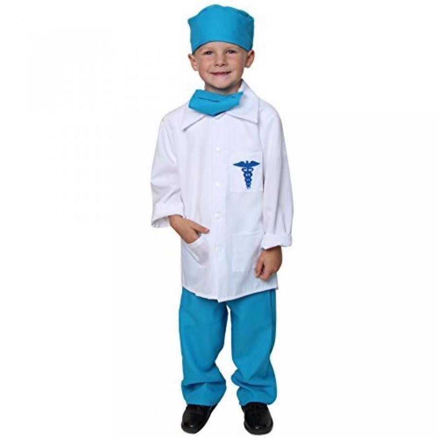 ハロウィン コスプレ 輸入品 青 Doctor Deluxe Costume Set Size 4/6