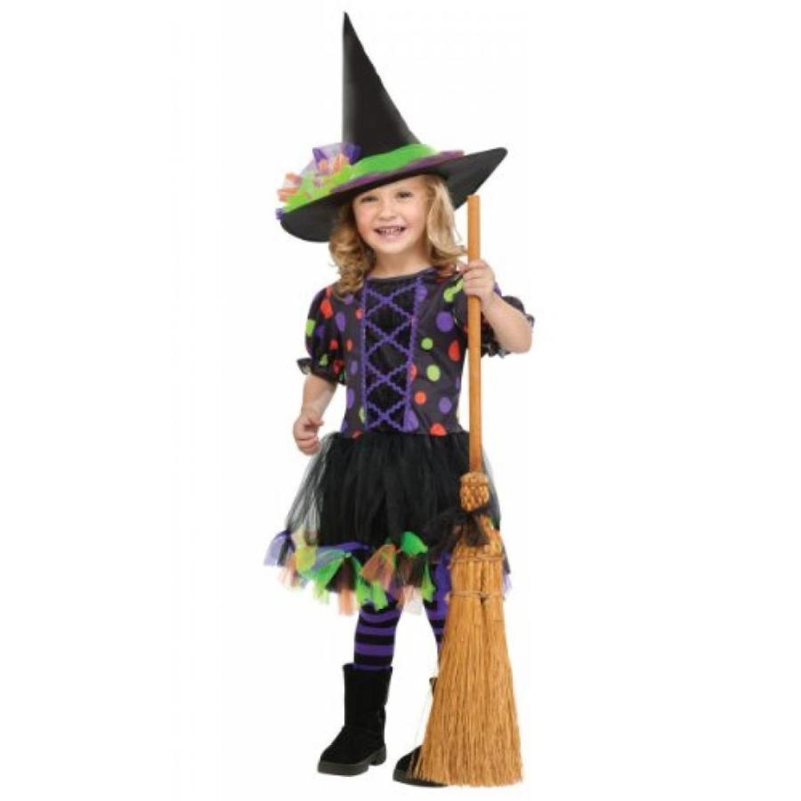 ハロウィン コスプレ 輸入品 Polka Dot Witch Toddler Costume