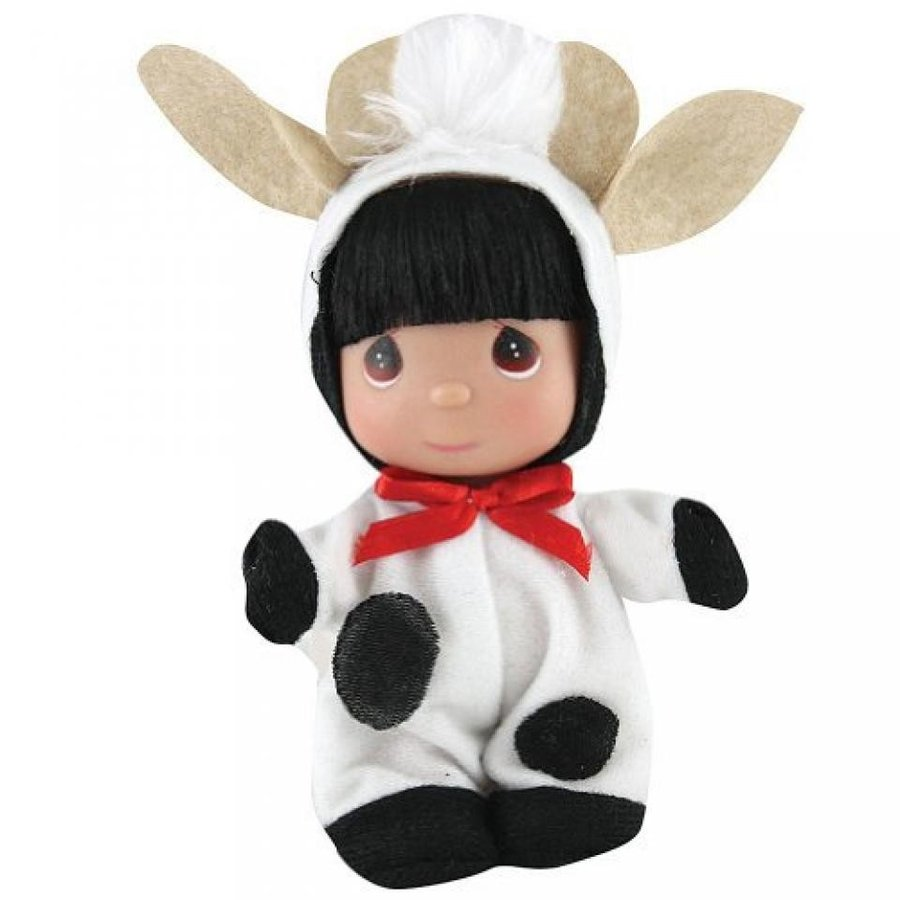 ハロウィン コスプレ 輸入品 Precious Moments Cow Doll - Dressed Up Farm Animal Costume Cute Collectible