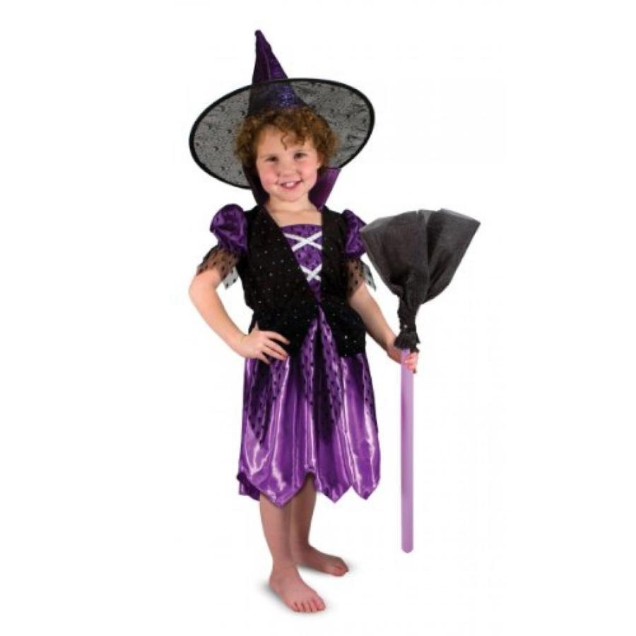 ハロウィン コスプレ 輸入品 Melissa & Doug Witch Role Play Costume Set