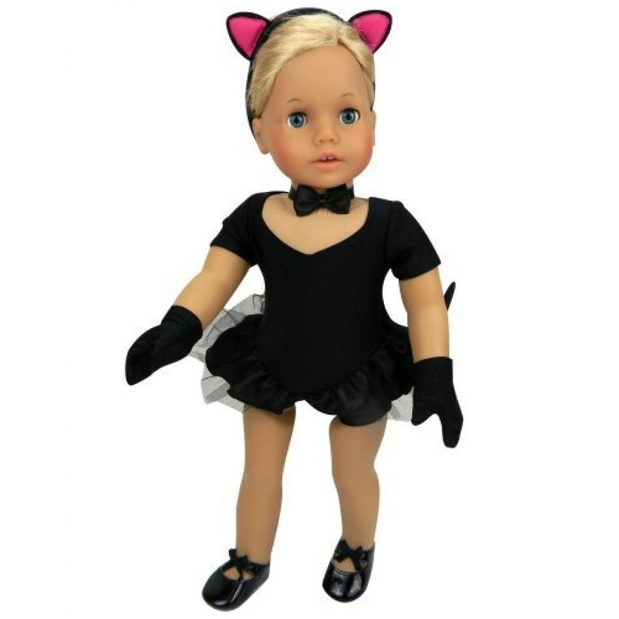 ハロウィン コスプレ 輸入品 Doll Jazz Costume, 2 in 1, 5 Pc. Set. Jazz or Cat Costume by Sophia's Perfect Fit for American Girl Dolls and More! (Doll