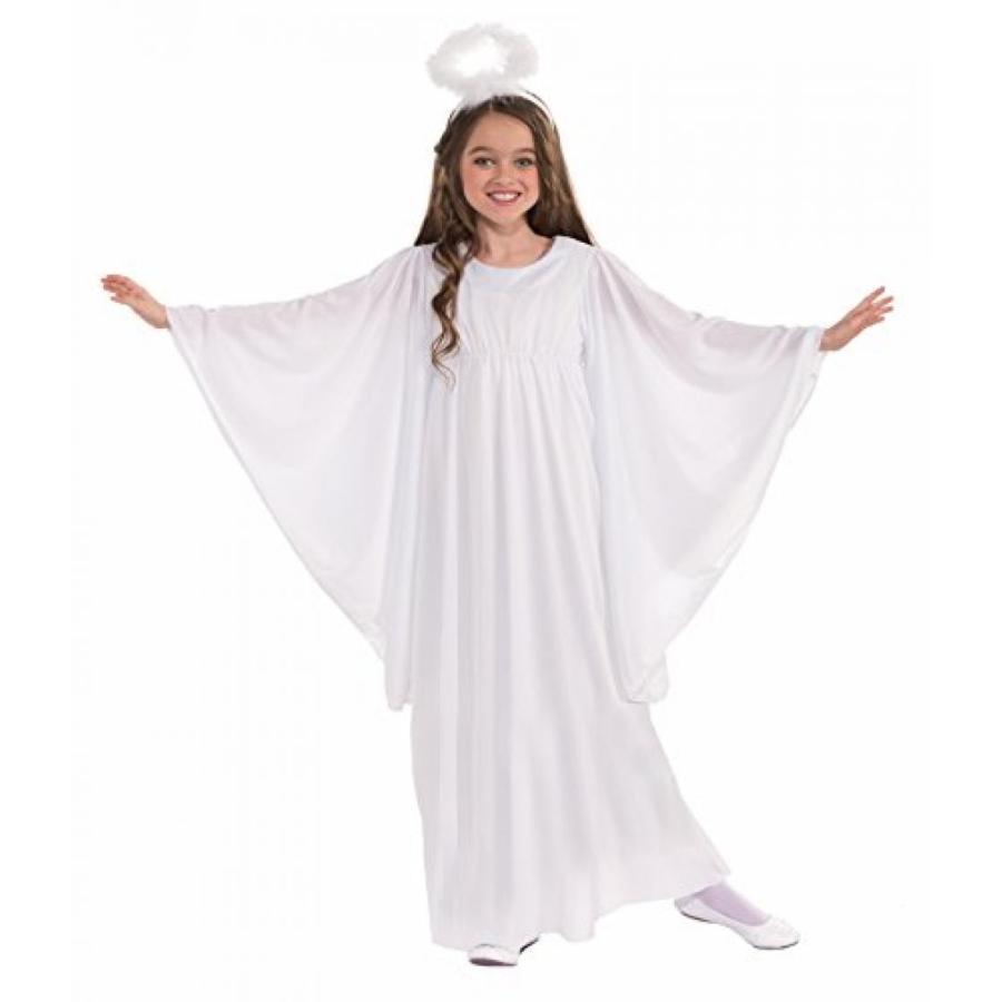 ハロウィン コスプレ 輸入品 Deluxe Angel Costume, Child Small