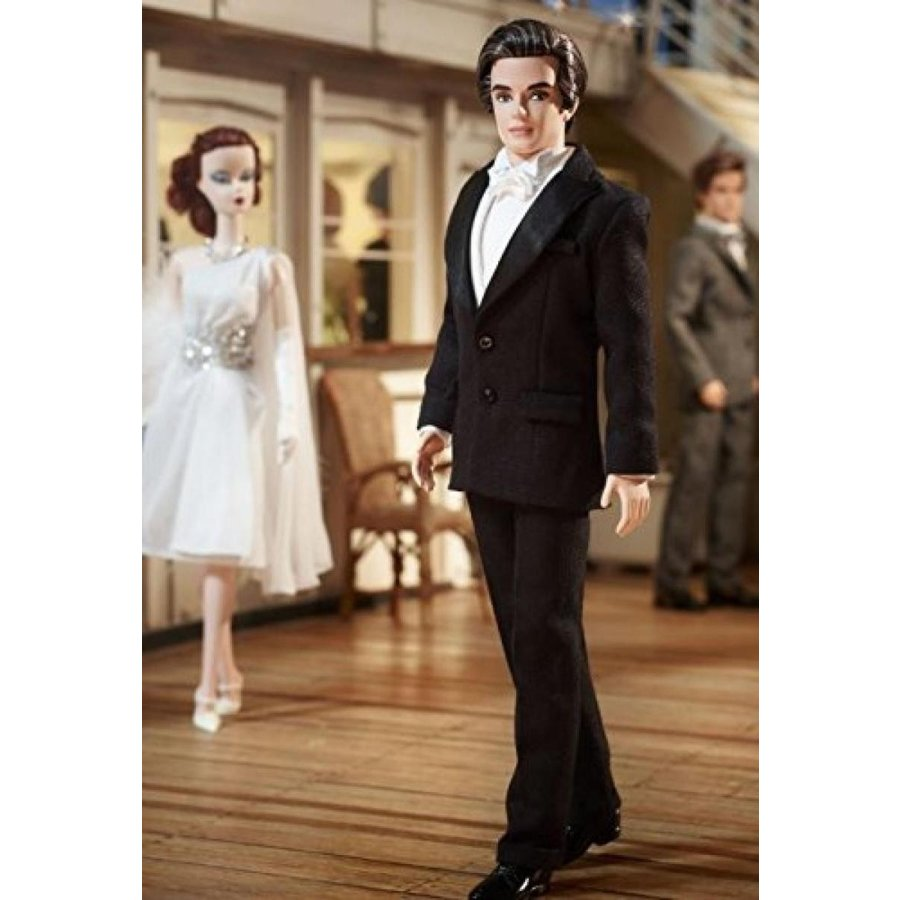 バービー おもちゃ Mattel Barbie X8283 BFC Exclusive Tailo赤 Tuxedo Ken 輸入品