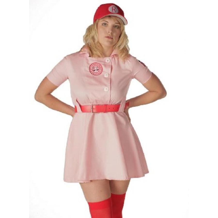 ハロウィン コスプレ 輸入品 TV Store Women's A League of Their Own Rockford Peaches AAGPBL Baseball Dress