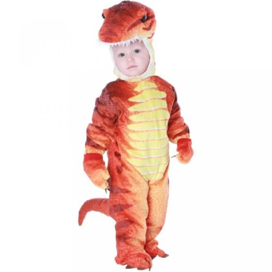 ハロウィン コスプレ 輸入品 Rust T-Rex Costume Toddler 6-12 Months (1 per package)