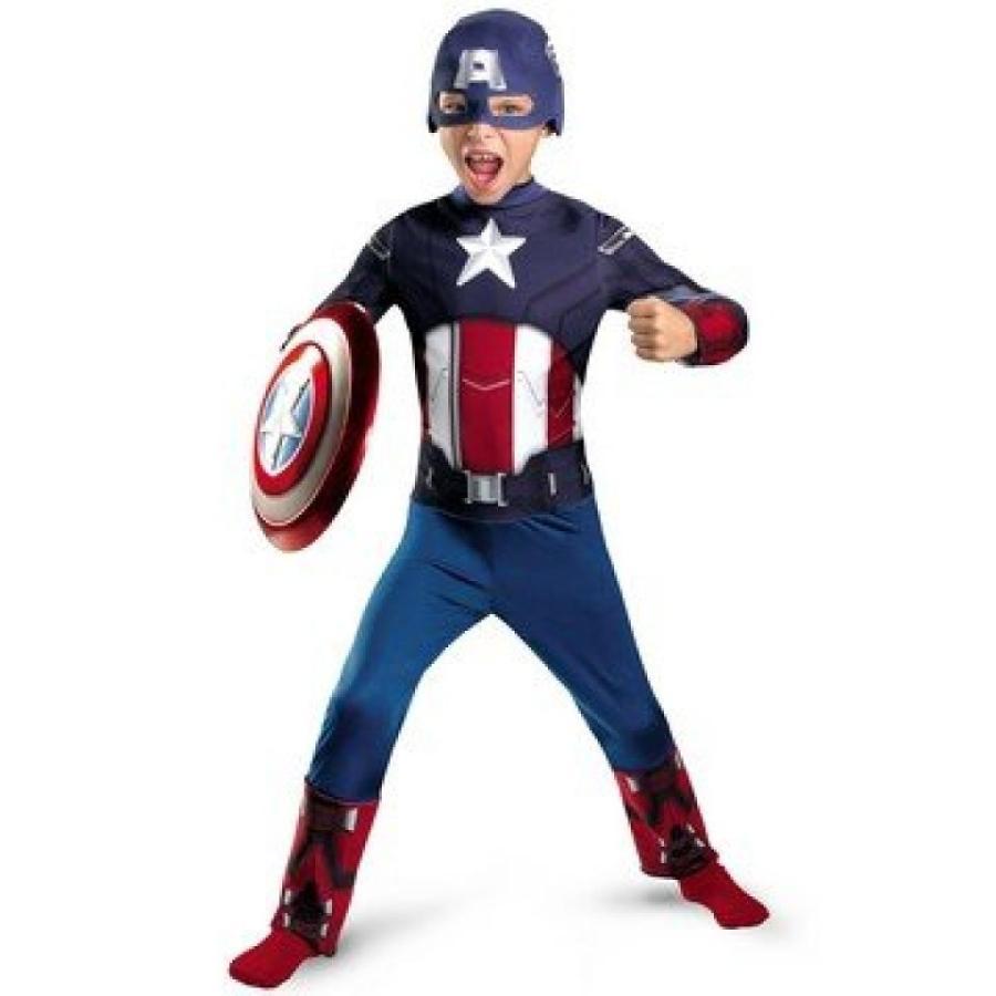 ハロウィン コスプレ 輸入品 Morris The Avengers Captain America Classic Child Costume 4-6
