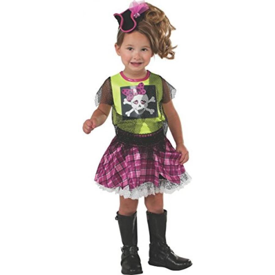 ハロウィン コスプレ 輸入品 Rubie's Costume Baby's Punk Pirate Toddler Costume