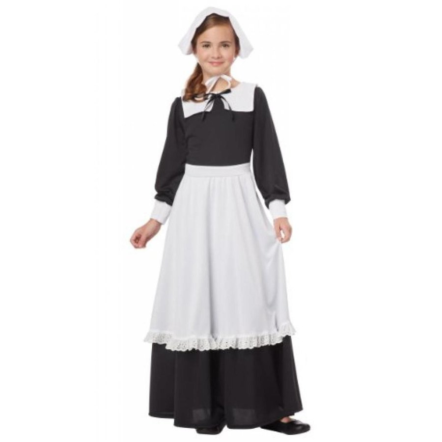 ハロウィン コスプレ 輸入品 California Costumes Pilgrim Girl Child Costume