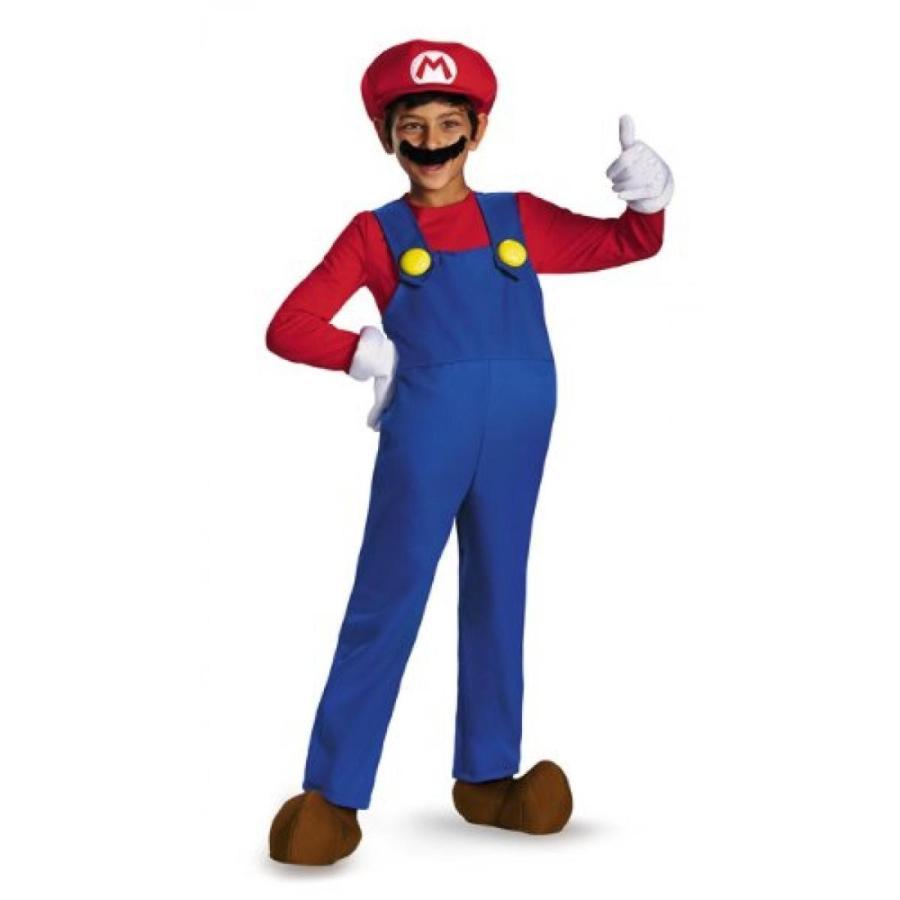 ハロウィン コスプレ 輸入品 Disguise Nintendo Super Mario Brothers Mario Prestige Boys Costume