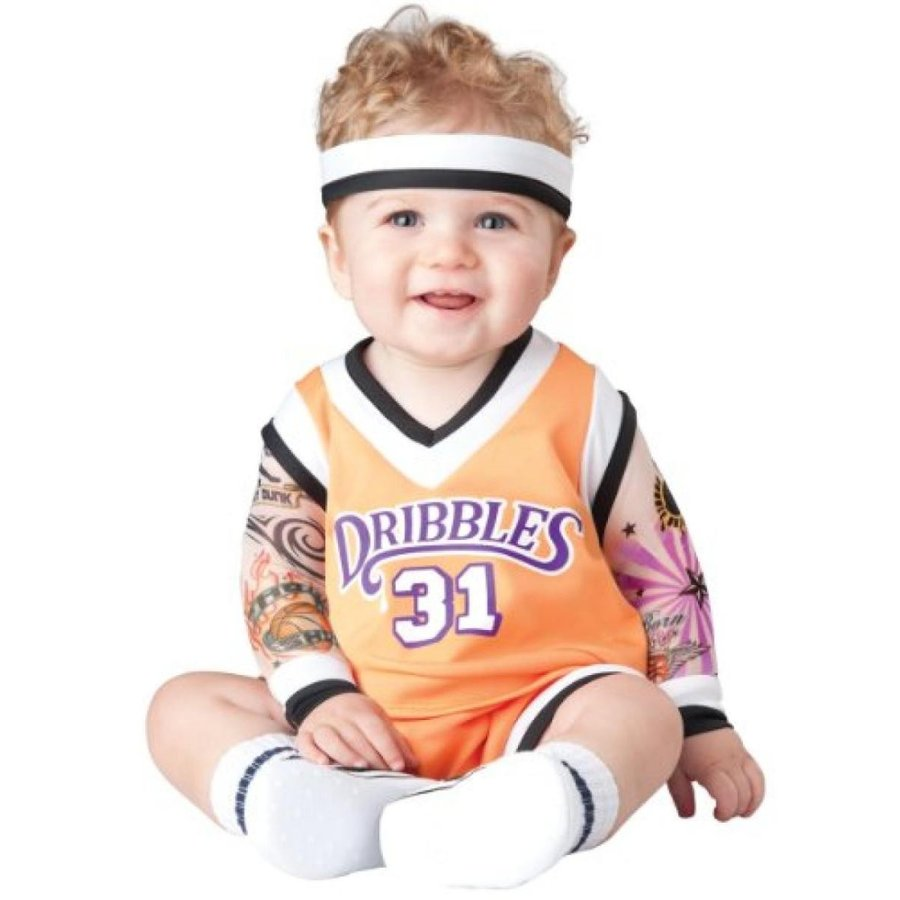 ハロウィン コスプレ 輸入品 InCharacter Baby's Double Dribble Basketball Player Costume