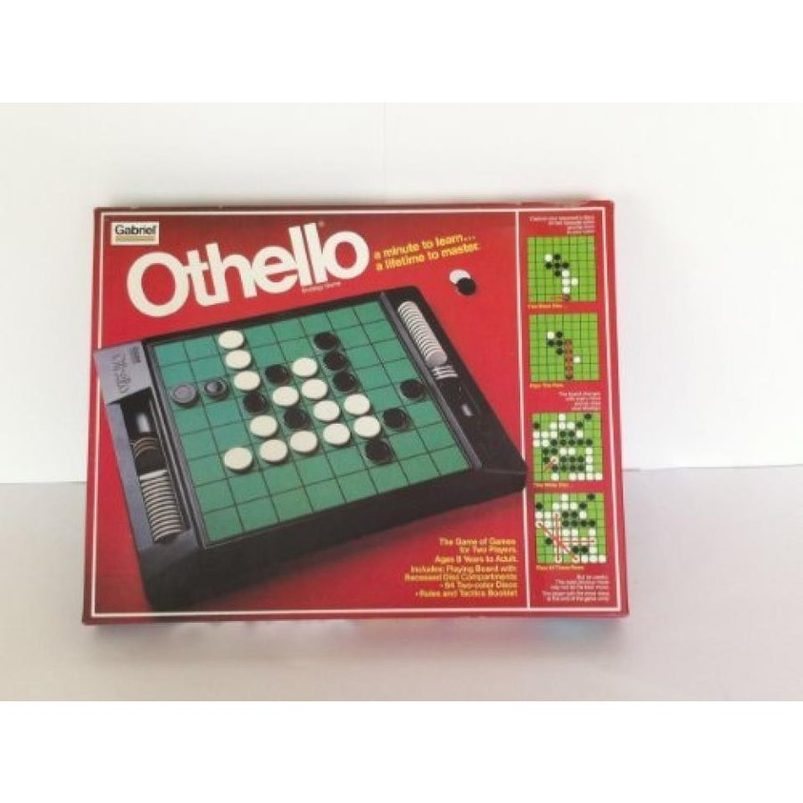 Vintage Othello Board Game By Gabriel No. 76390 (Box Cover W/o Hands) 輸入品
