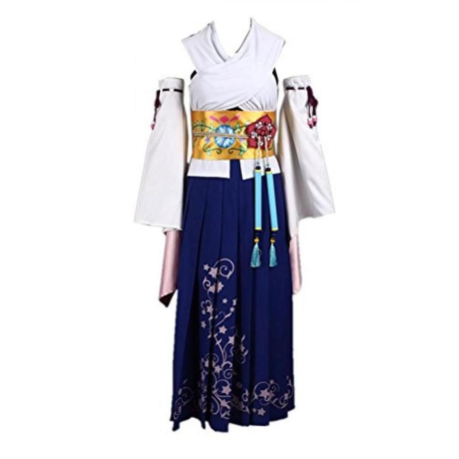 ハロウィン コスプレ 輸入品 Final Yuna Costume Fancy Fantasy Dress Cosplay Costume
