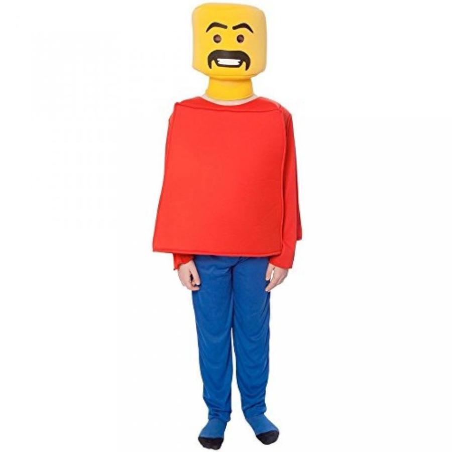 ハロウィン コスプレ 輸入品 Big Boys' Mr. Blockhead Costume