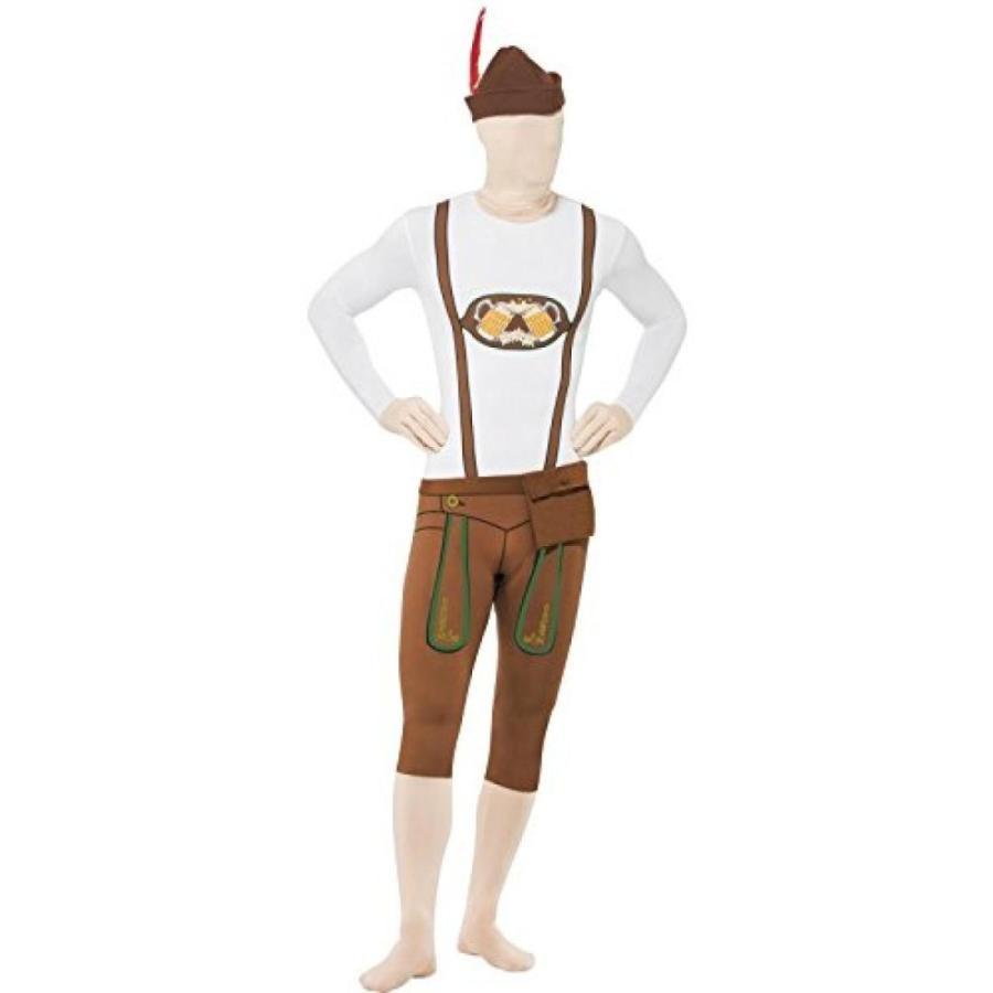 ハロウィン コスプレ 輸入品 Bavarian Second Skin Suit, with Hat Fancy Dress Man Costume