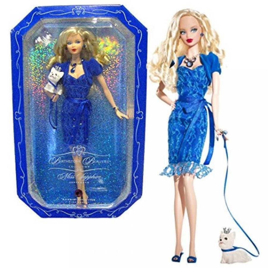 バービー おもちゃ Mattel Year 2007 Barbie ピンク Label Birthstone Beauties Collection Series 12 Inch Doll - Miss Sapphire September (Caucasian Version)