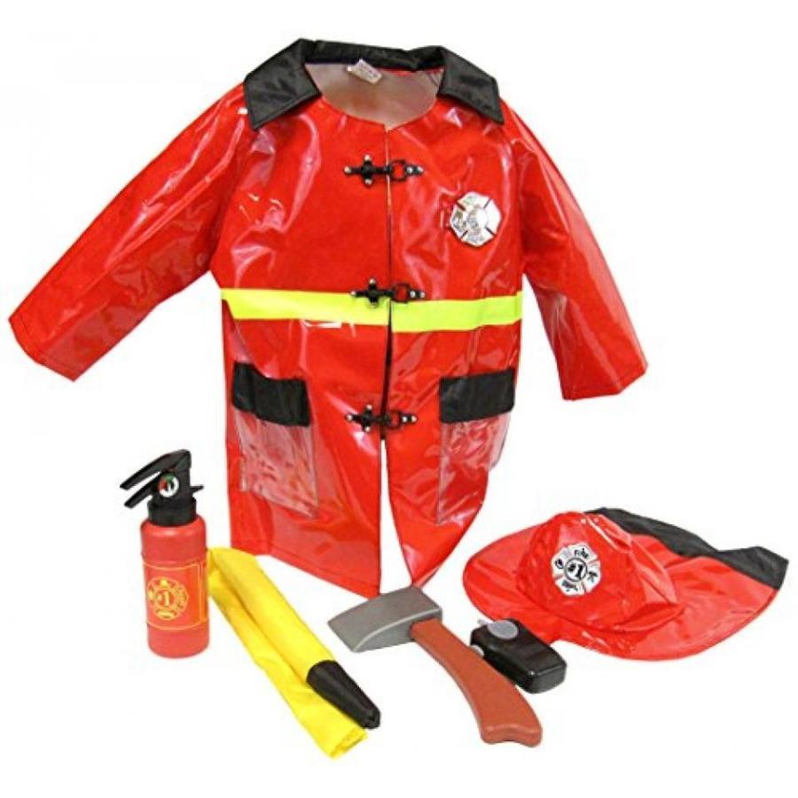ハロウィン コスプレ 輸入品 Little Big World Firefighter Deluxe Costume