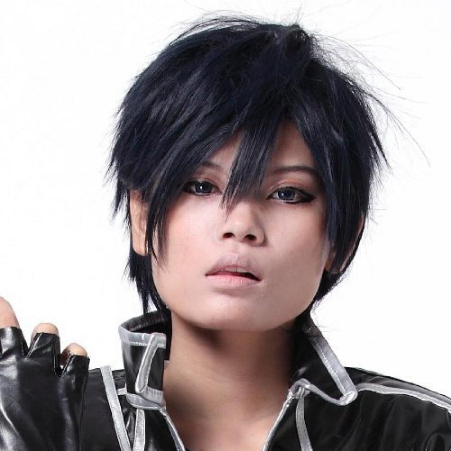 ハロウィン コスプレ 輸入品 Kirito Cosplay Wig Hair Accessories For Cosplay Costume