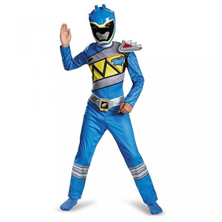 ハロウィン コスプレ 輸入品 Disguise 青 Ranger Dino Charge Classic Costume
