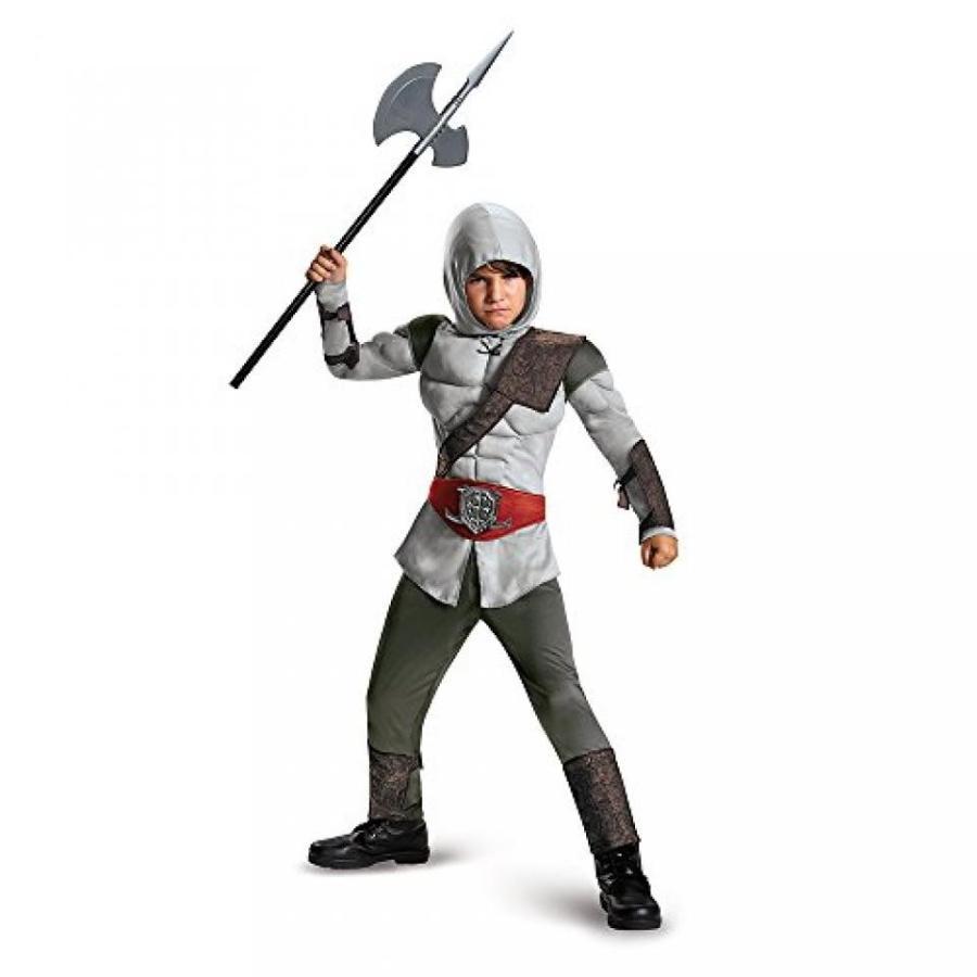 ハロウィン コスプレ 輸入品 Big Boys' Hooded Stealth Assassin Video Game Muscle Costume