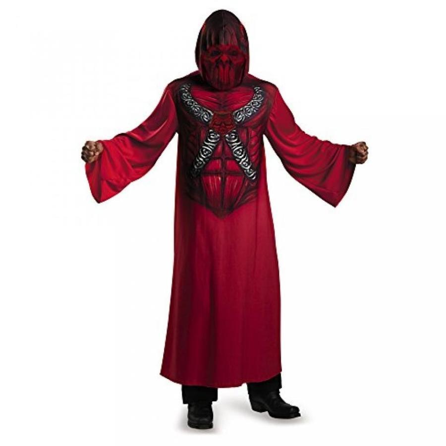 ハロウィン コスプレ 輸入品 Disguise 74298L Devil Hooded Print Robe - Child Costume, Small (4-6)