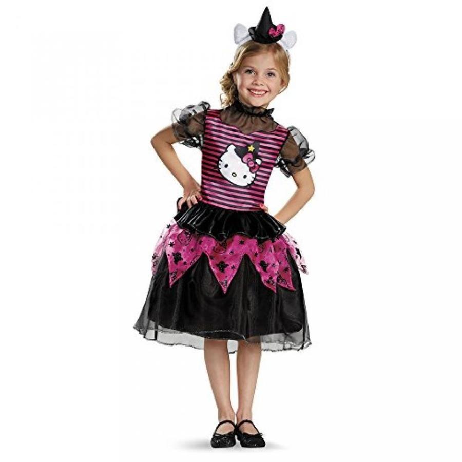 ハロウィン コスプレ 輸入品 Disguise 88672S Hello Kitty Witch Classic Toddler Costume, Small (2T)