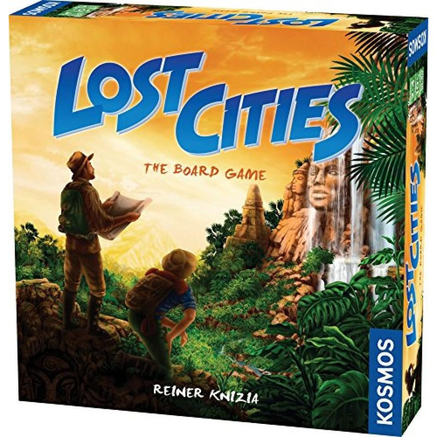 Lost Cities - The Board Game 輸入品