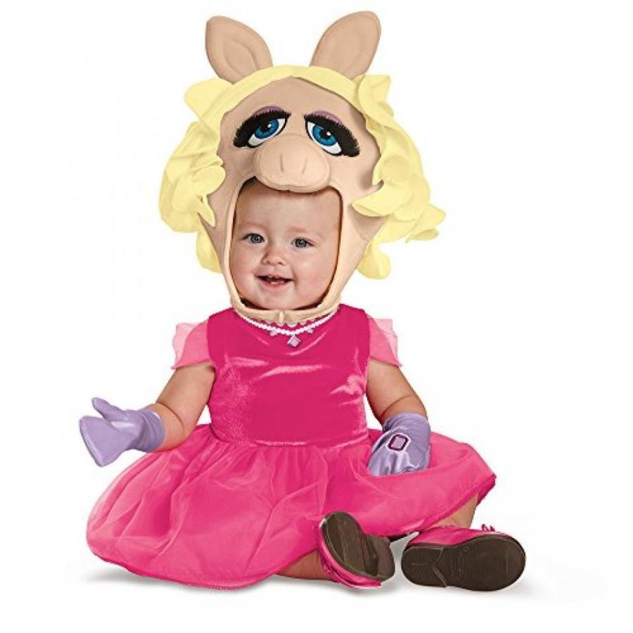 ハロウィン コスプレ 輸入品 Disguise Baby Girls' Miss Piggy Infant Costume