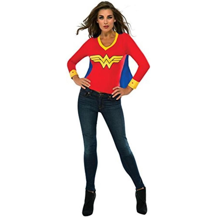 ハロウィン コスプレ 輸入品 Rubie's Costume Co Women's DC Superheroes Wonder Woman Sporty Tee