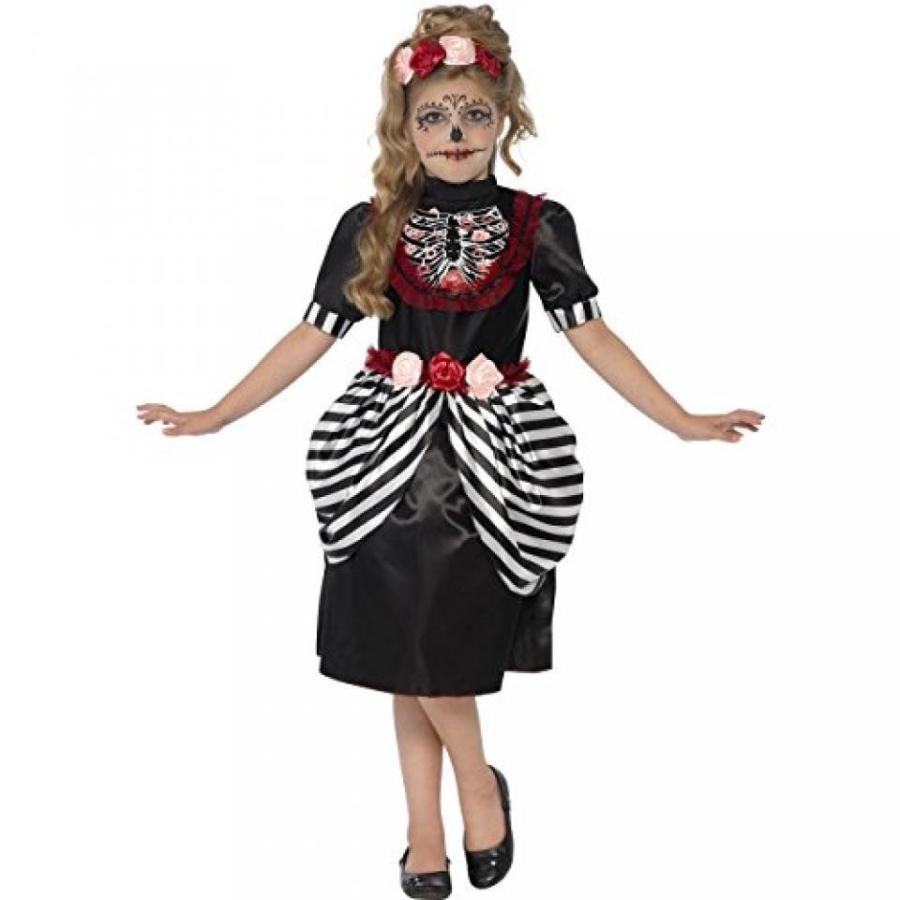 ハロウィン コスプレ 輸入品 Sugar Skull Costume - Small Age 4-6