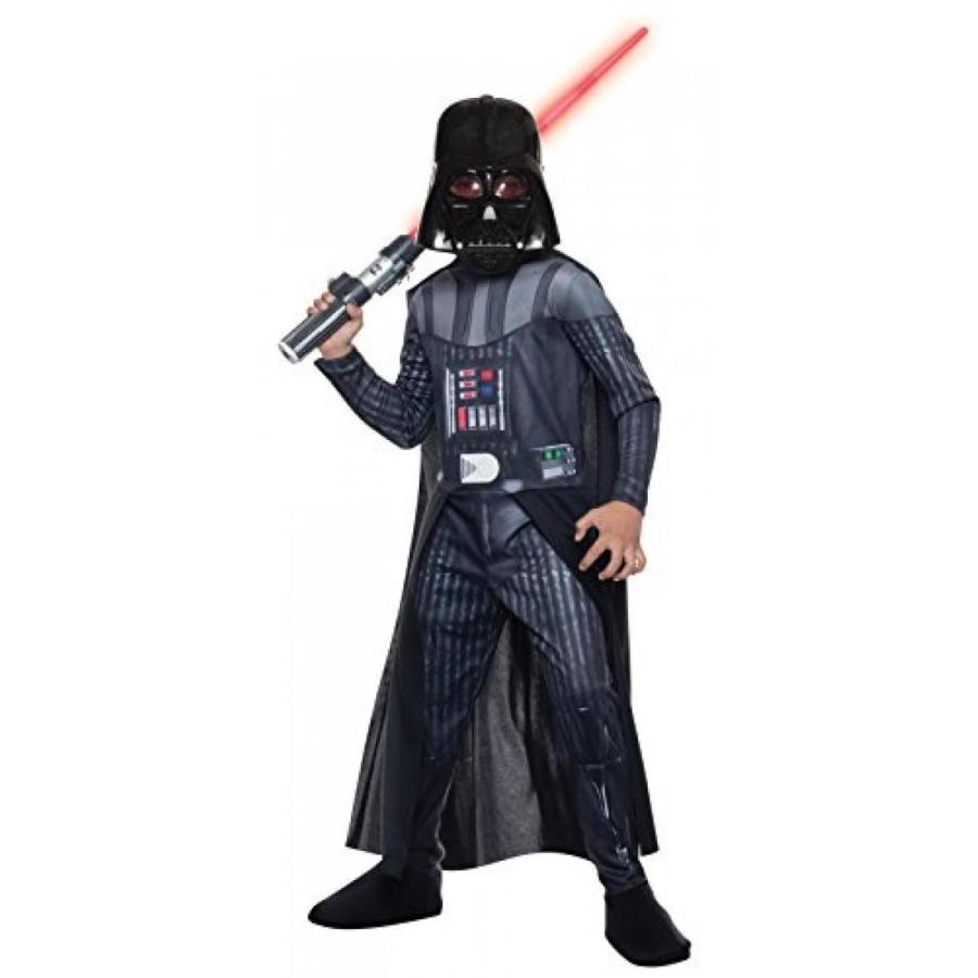 ハロウィン コスプレ 輸入品 Rubie's Costume Star Wars Classic Darth Vader Child Costume