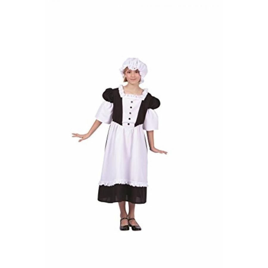ハロウィン コスプレ 輸入品 Pilgrim Peasant Girl Child Costume