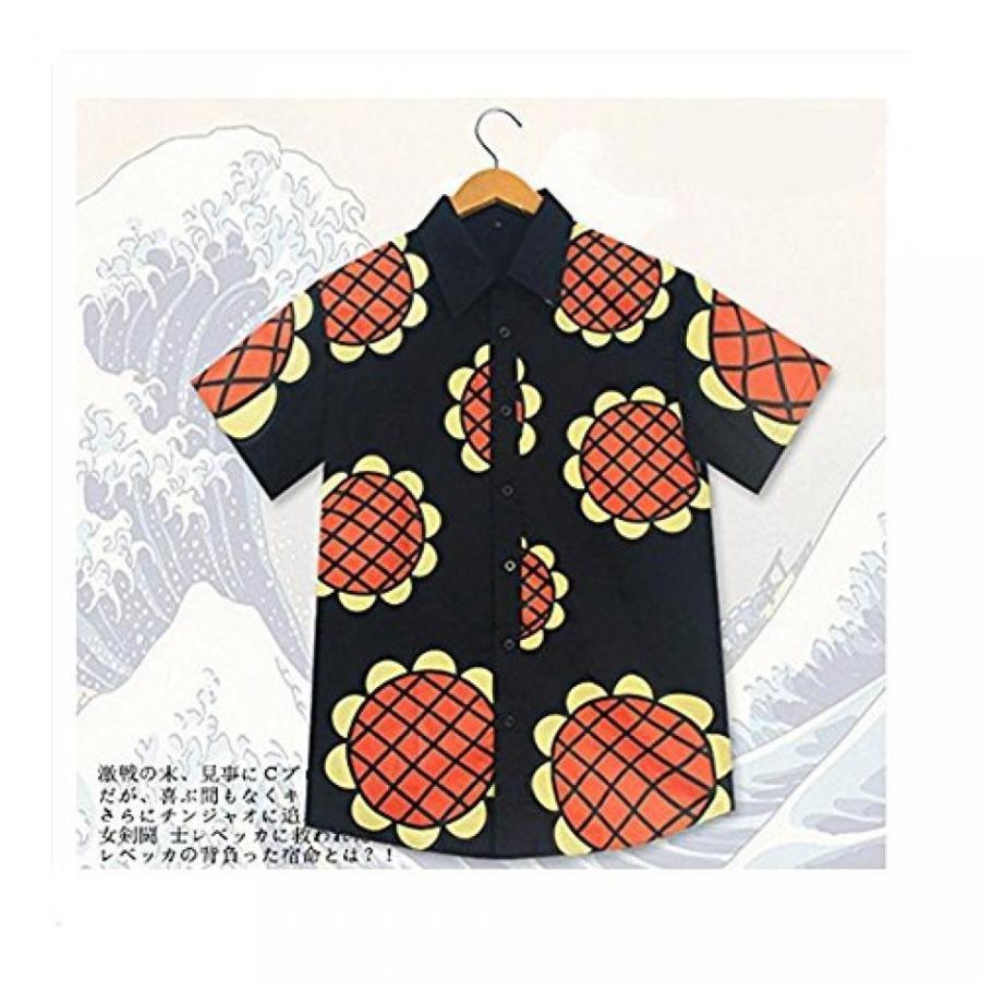ハロウィン コスプレ 輸入品 Mxnpolar One Piece Monkey D Luffy Cosplay New World Sunflowers T-shirt Costume