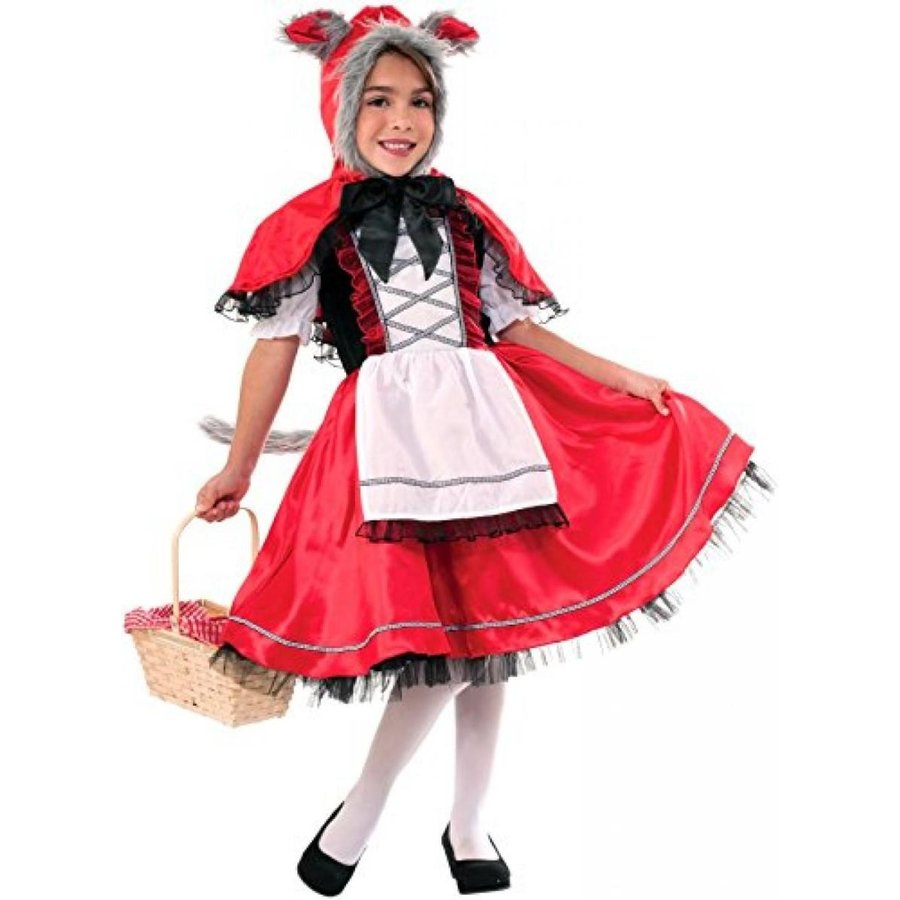 ハロウィン コスプレ 輸入品 Forum Novelties Lil 赤 Riding Wolf Costume