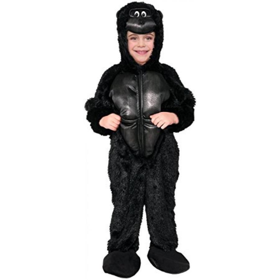 ハロウィン コスプレ 輸入品 黒 Gorilla Kids Costume