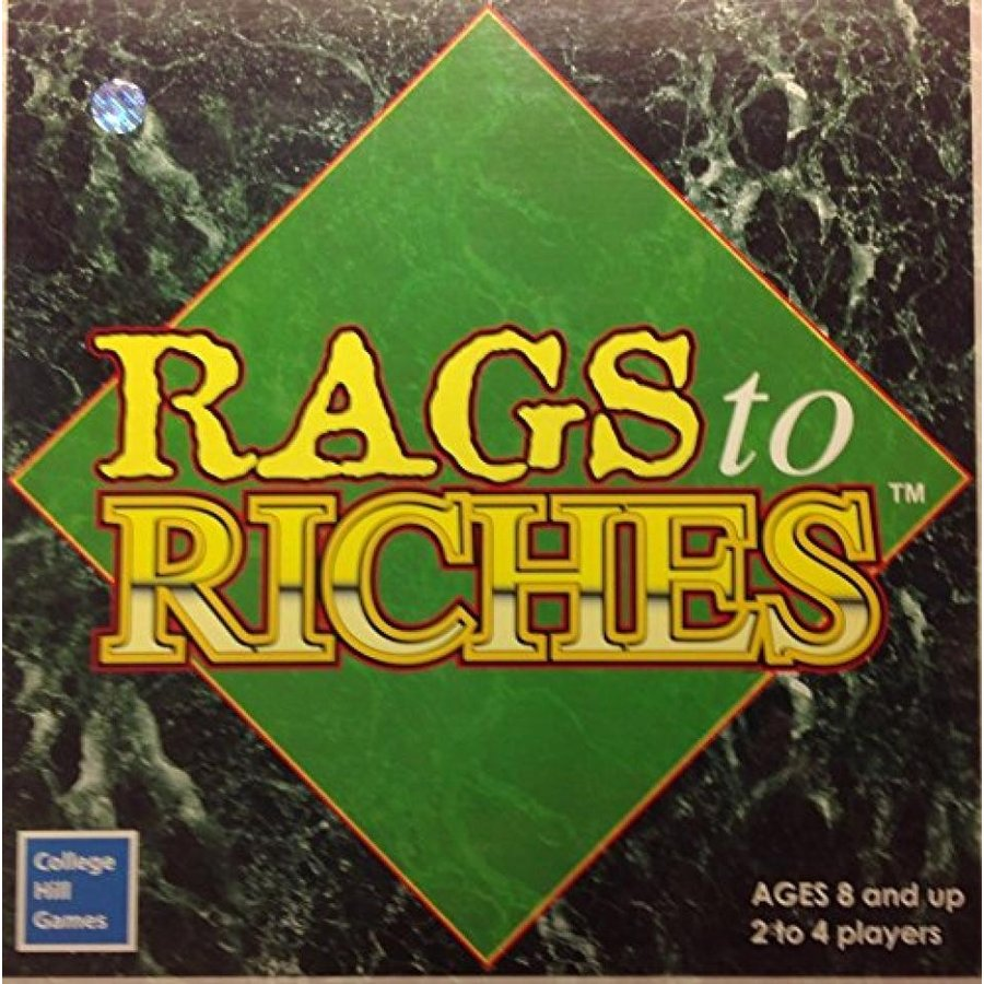 Vintage 2003 Rags to Riches Board Game 輸入品