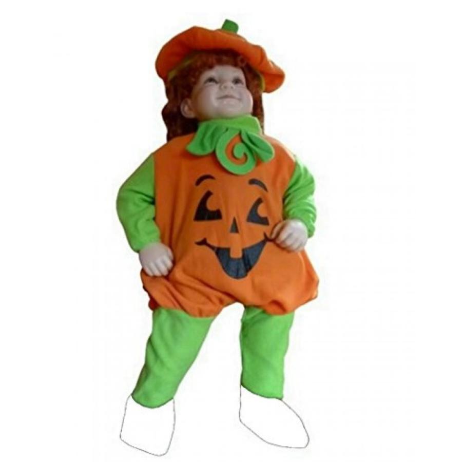 ハロウィン コスプレ 輸入品 Fantasy World Girl's F69 Pumpkin Costume (9 Months-2t)