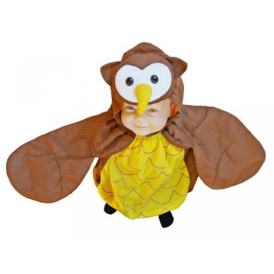 ハロウィン コスプレ 輸入品 Fantasy World Girl's F68 Owl Costume (9 Months-2t)