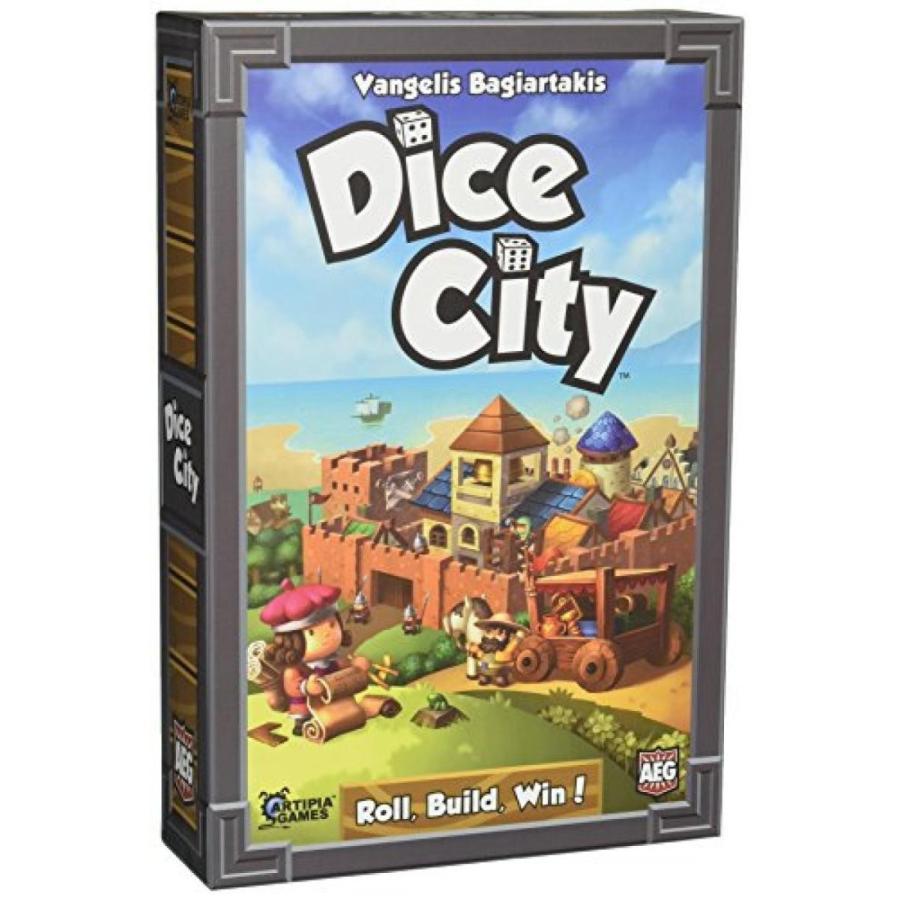 Dice City Board Game 輸入品