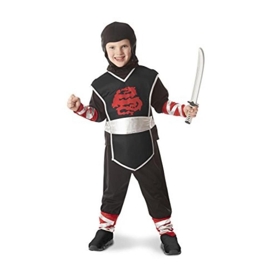 ハロウィン コスプレ 輸入品 Melissa & Doug Ninja Role Play Costume Set