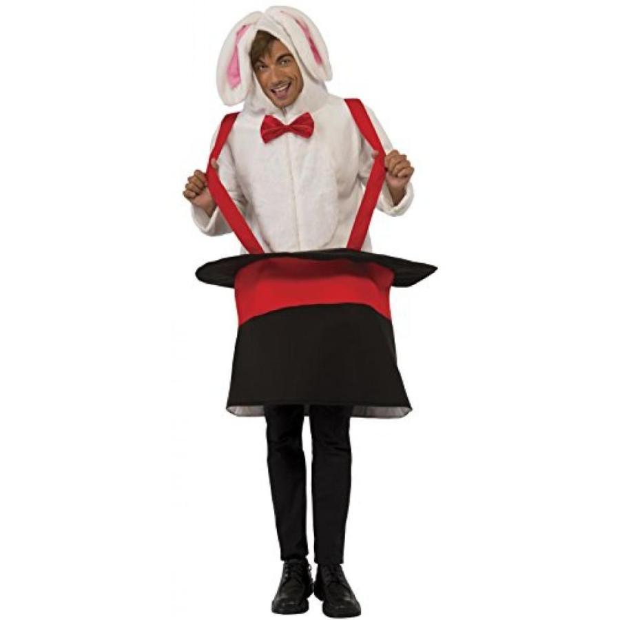 ハロウィン コスプレ 輸入品 Rubie's Men's Rabbit In A Hat Hoodie Costume