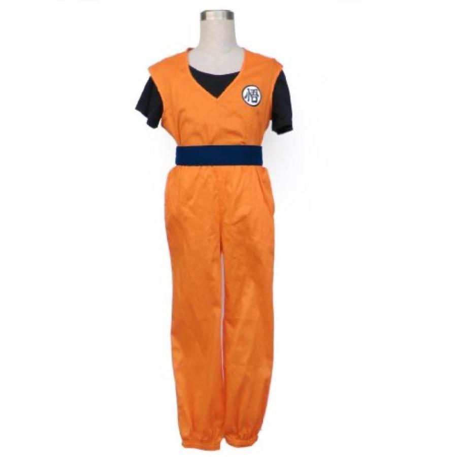ハロウィン コスプレ 輸入品 Dazcos Dragon Ball Son Goku Men's or Kids Cosplay Costume