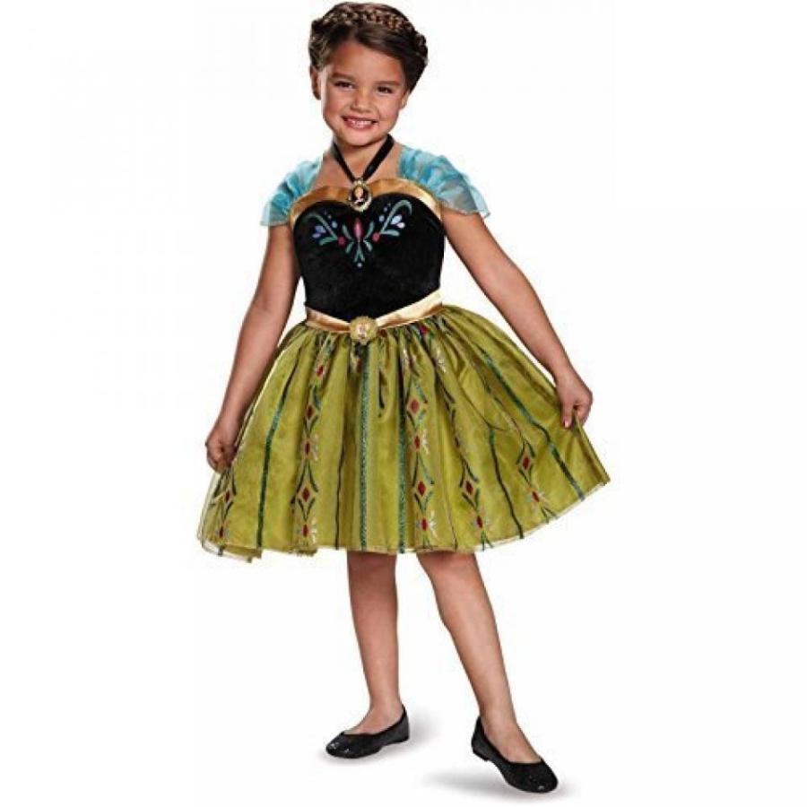 ハロウィン コスプレ 輸入品 Disney Frozen Anna Costume with Wig